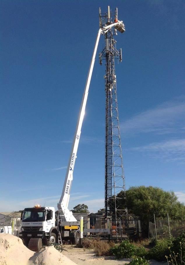 40m elevated work platform